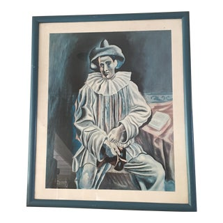 Framed Picasso Pierrot Lithograph