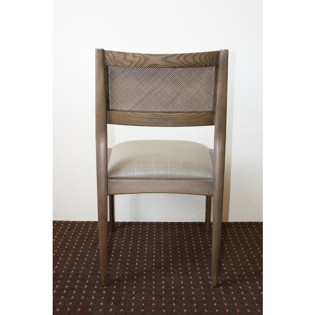 McGuire Fino Side Chair in Gray & Dove - Image 5 of 7