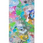 "Image of Trixie Pitts ""Mardi Gras"" Abstract Painting by Trixie Pitts"