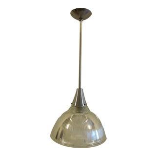 1950 Holophane Pendant Lamp