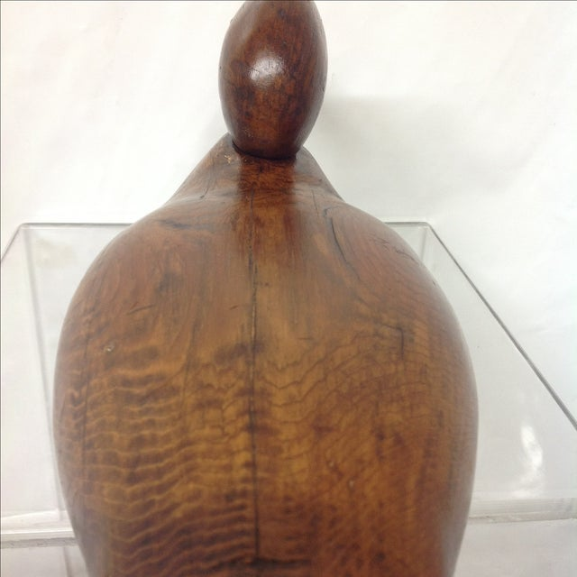 Antique Hand-Carved Duck Decoy - Image 5 of 7