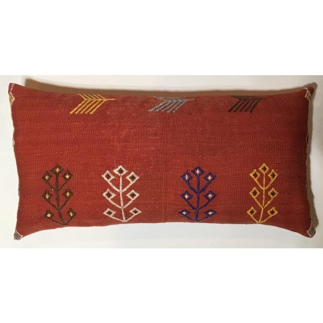 Moroccan Cactus Silk Pillow - Image 2 of 10