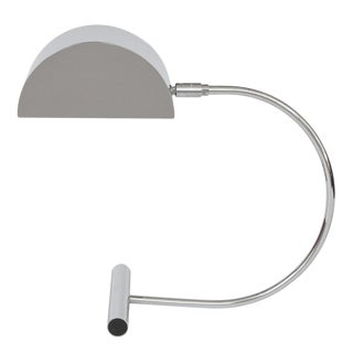 Koch and Lowy Chrome Desk Lamp