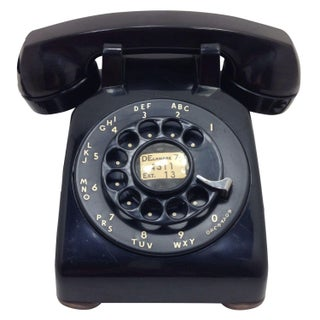 Black Western Electric 500 Desk Phone