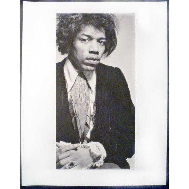 Vintage Jimi Hendrix Portrait Photograph - Image 2 of 3