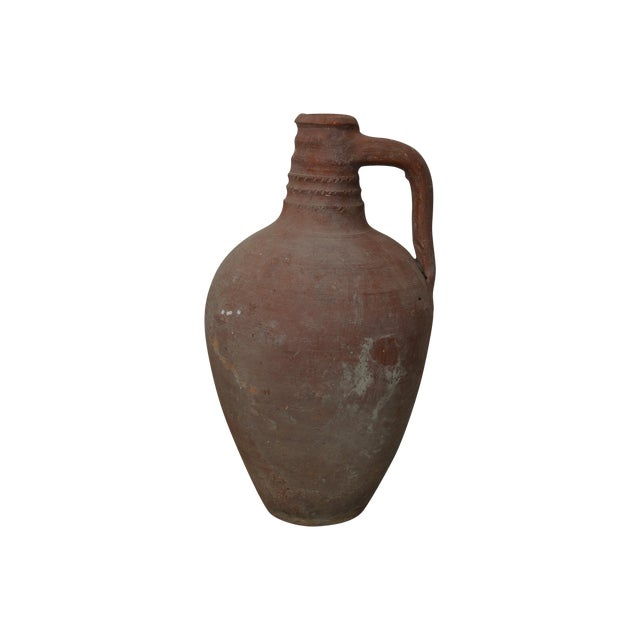 Greek Antique Stamna Pottery - Image 1 of 3