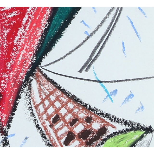 Image of M. DI Cosola Pastel Abstract Drawing