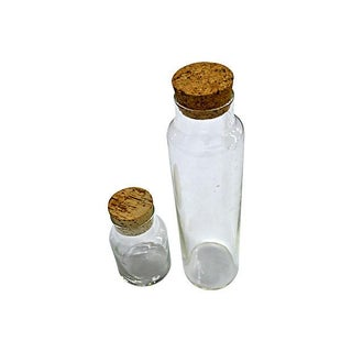 Clear Glass Canister - Pair