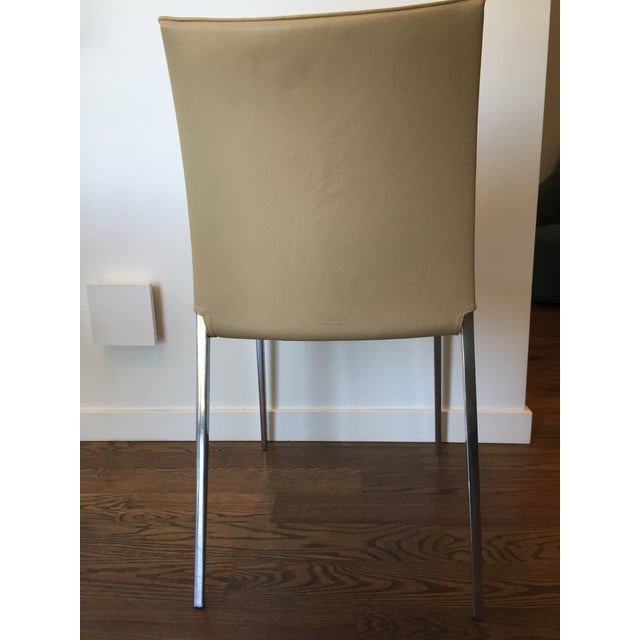 Zanotta Lia Chair in Leather - Image 6 of 7
