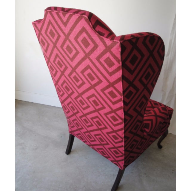 The Hicks Wingback Chair - Image 4 of 5