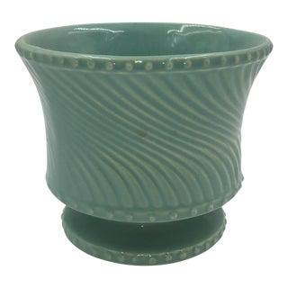 Turquoise McCoy Swirl Pot