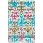 "Image of Hand-Knotted Sari Silk Indian Rug - 5'1"" X 8'1"""
