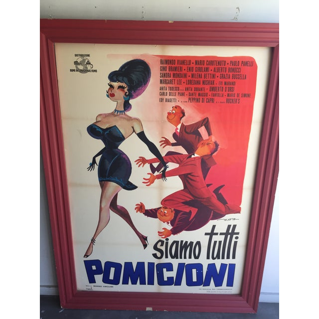 1962 Italian Movie Poster - Image 3 of 10