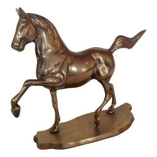 Brass Horse Figure
