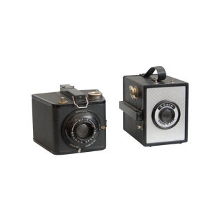 Vintage Kodak Brownie Cameras - A Pair