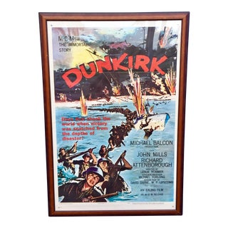 Vintage 'Dunkirk' Movie Poster