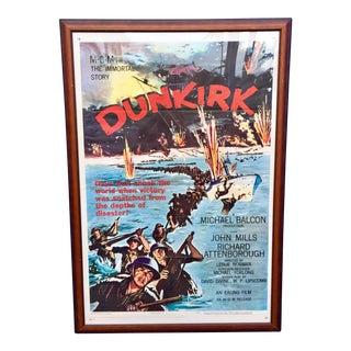 Vintage 'Dunkirk' Movie Poster