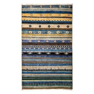 """Lori, Hand Knotted Area Rug - 3'3"""" X 5'3"""""""