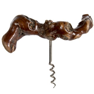 Vintage French Grapevine Corkscrew
