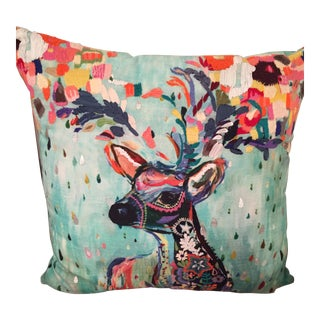 Anthropologie Deer PIllow