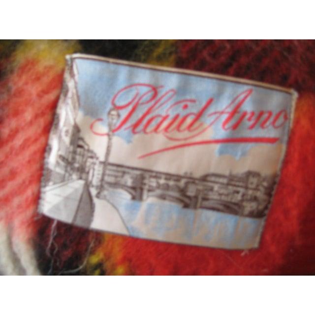 Red Plaid Arno Wool Camp Blanket - Image 3 of 6