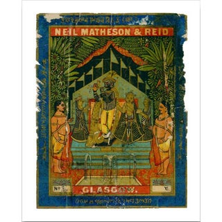 Vintage Indian Trade Label Archival Print