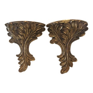 Baroque Wall Sconces - A Pair