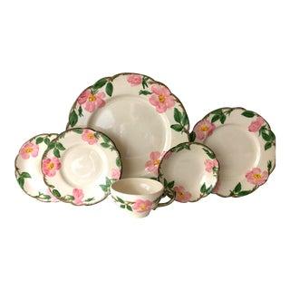 Franciscan Desert Rose Dinnerware - Set of 6