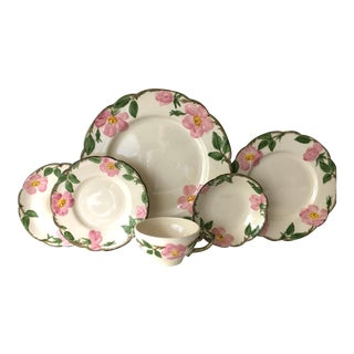 Franciscan Desert Rose Dinnerware - Set of 6