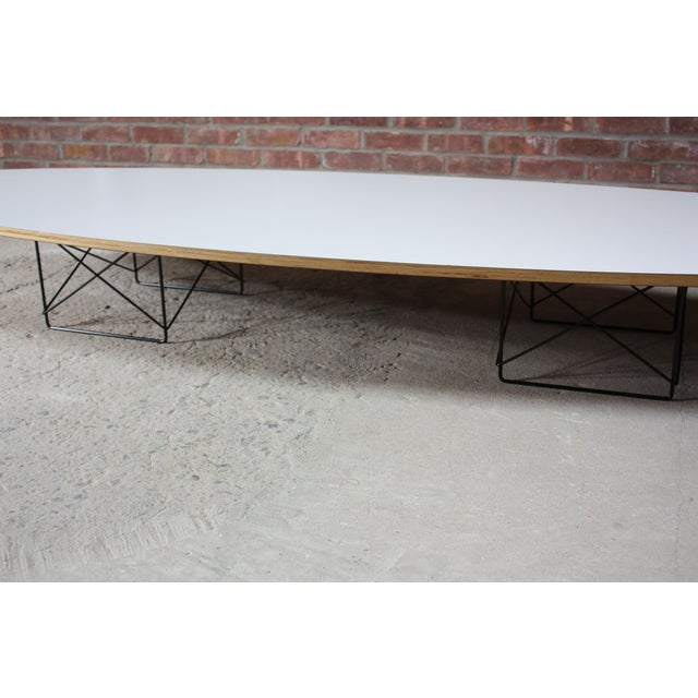 Image of Eames for Herman Miller Elliptical Coffee Table