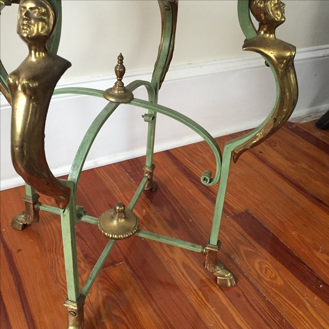 Antique French Marble Table - Image 5 of 9