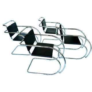 Ludwig Mies Van Der Rohe Mr Chairs - Set of 4
