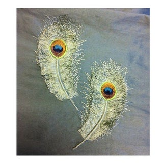 Silk Peacock Fabric