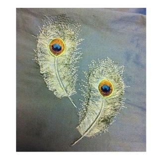 Silk Peacock Fabric