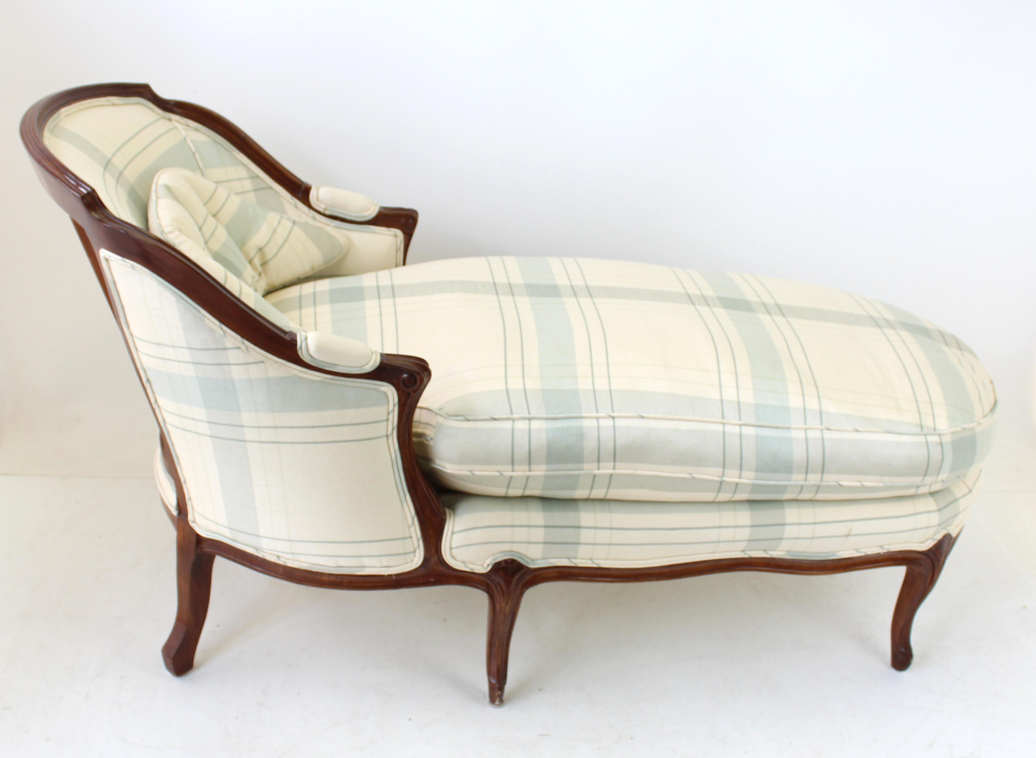 Vintage French Country Chaise Lounge - Image 2 of 9  sc 1 st  Chairish : chaise lounge vintage - Sectionals, Sofas & Couches