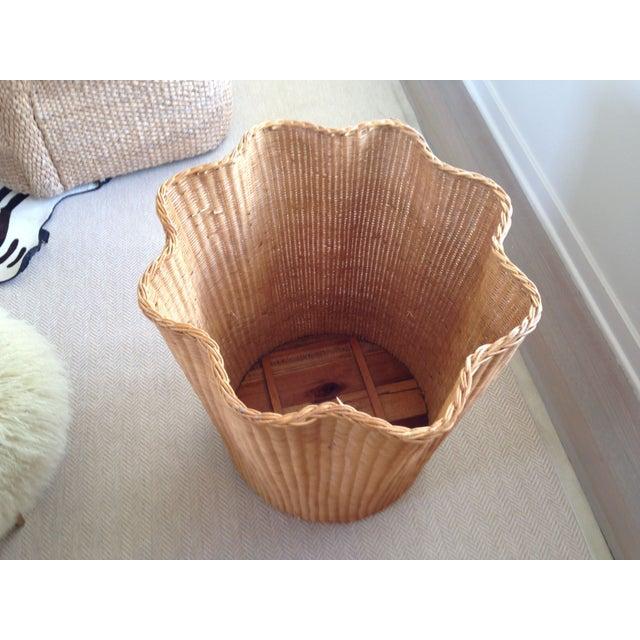 Soane Ripple Circular Rattan Table - Image 3 of 5