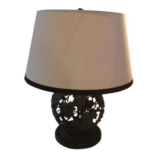 Baker Laura Kirar Peony Table Lamp