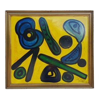 1973 Signed By The Original Berlin Artist Peter Keil