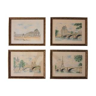 G. A. Dumarais Framed Lithographs - Set of 4