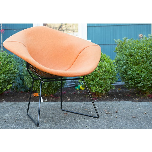 Vintage Harry Bertoia Diamond Chair by Knoll - Image 4 of 9
