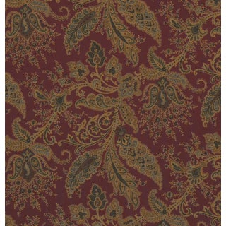 Ralph Lauren Northcliffe Paisley Berry Fabric - 3 Yards
