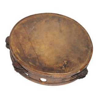 Early 19Thc American Tambourine From New England