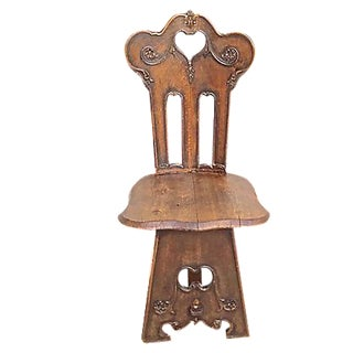 Antique Welsh Hall Chair