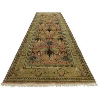 RugsinDallas Persian Style Wool Runner Rug - 4′ × 12′1″