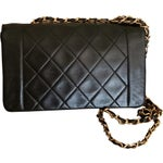 """Image of Chanel 9"""" Quilted Leather CC Cross Body Bag"""