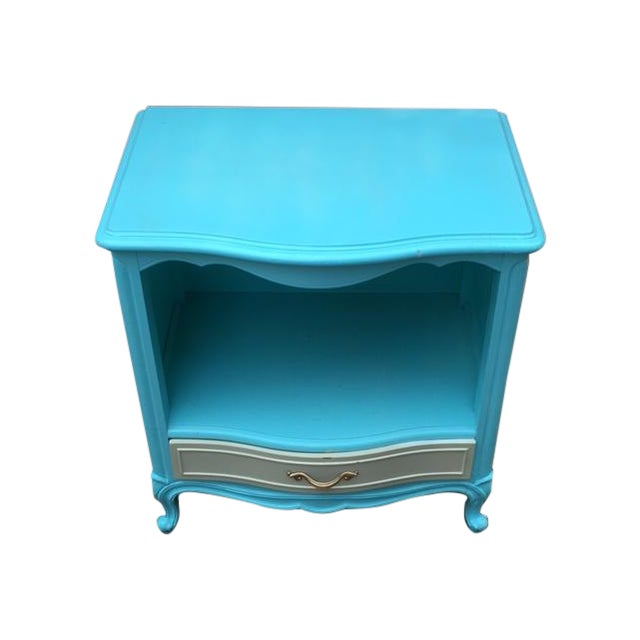 Shabby Chic Drexel Touraine Bedside Table - Image 1 of 4
