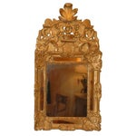 Image of French Regency Gilt Wood Mirror