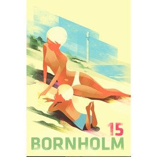 Contemporary Mads Berg Poster, Bornholm