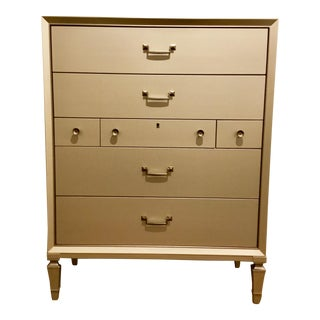 Caracole Pearly White Tall Chest