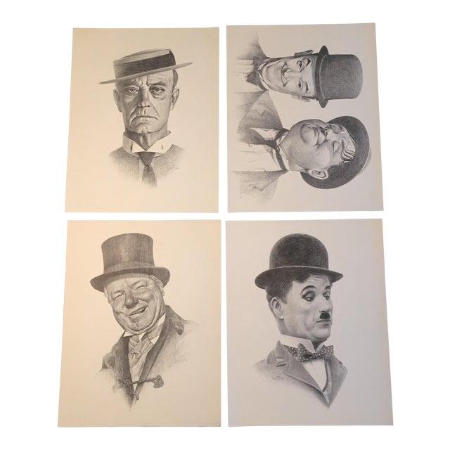 Vintage Bill Bates Print Portfolio - Set of 4 - Image 1 of 8
